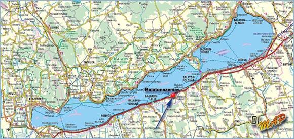 balaton térkép Surf Shop Balatonszemes Térkép Balaton balaton térkép